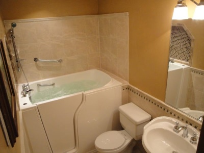 Independent Home Products, LLC installs hydrotherapy walk in tubs in Belvedere