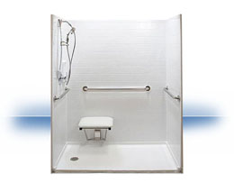 Walk in shower in Rio Nido by Independent Home Products, LLC
